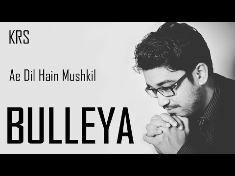 Bulleya - Ae Dil Hain Mushkil | Instrumental | Guitar Cover | Pritam | KRS