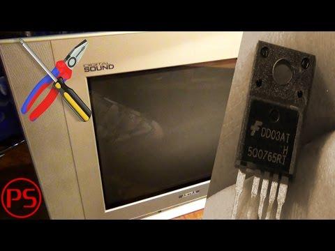 видео: Простой ремонт телевизора akira (не включается)