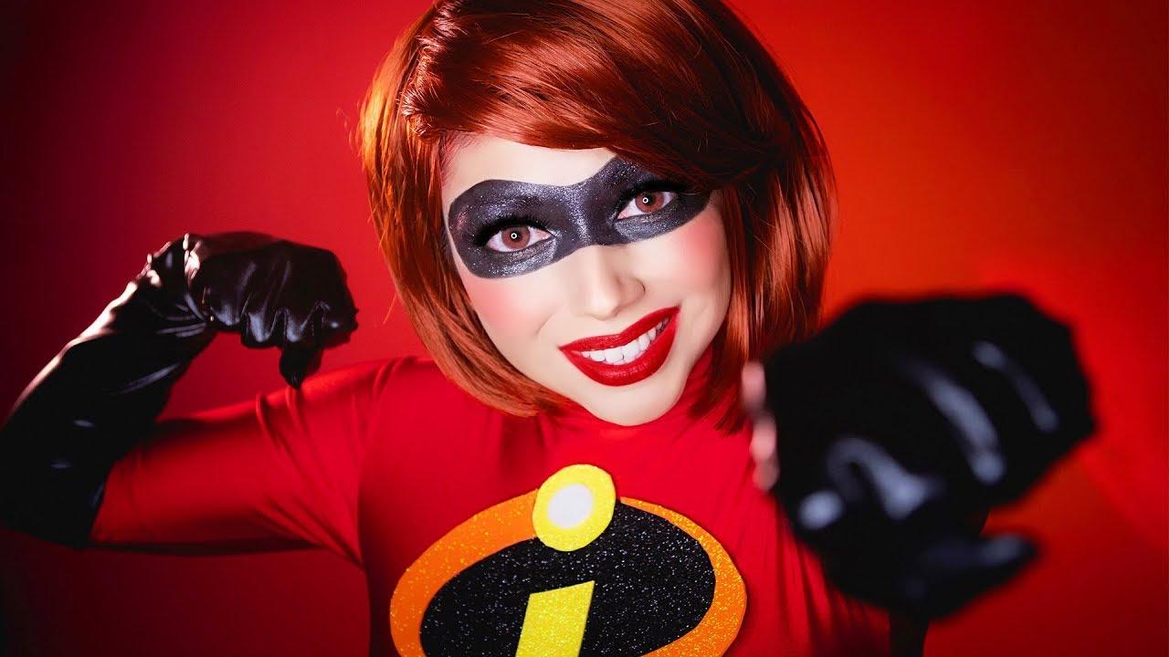Download INCREDIBLES 2 Elastigirl Makeup Tutorial!