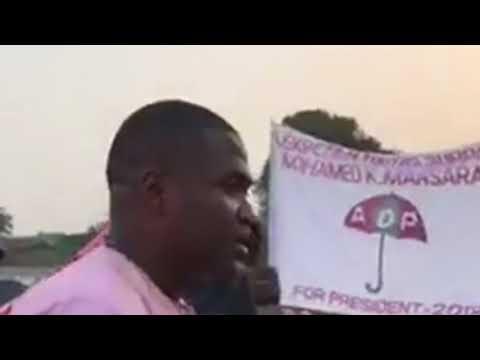 Mohamed Kamarainba Mansaray Of ADP In Kenema