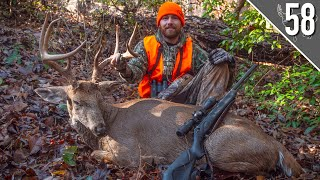 GEORGIA PUBLIC LAND GIANT! - Crazy Hunt for a Mountain Buck!