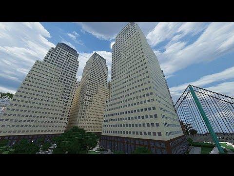World financial center!!! | Minecraft Tutorial Pt.1