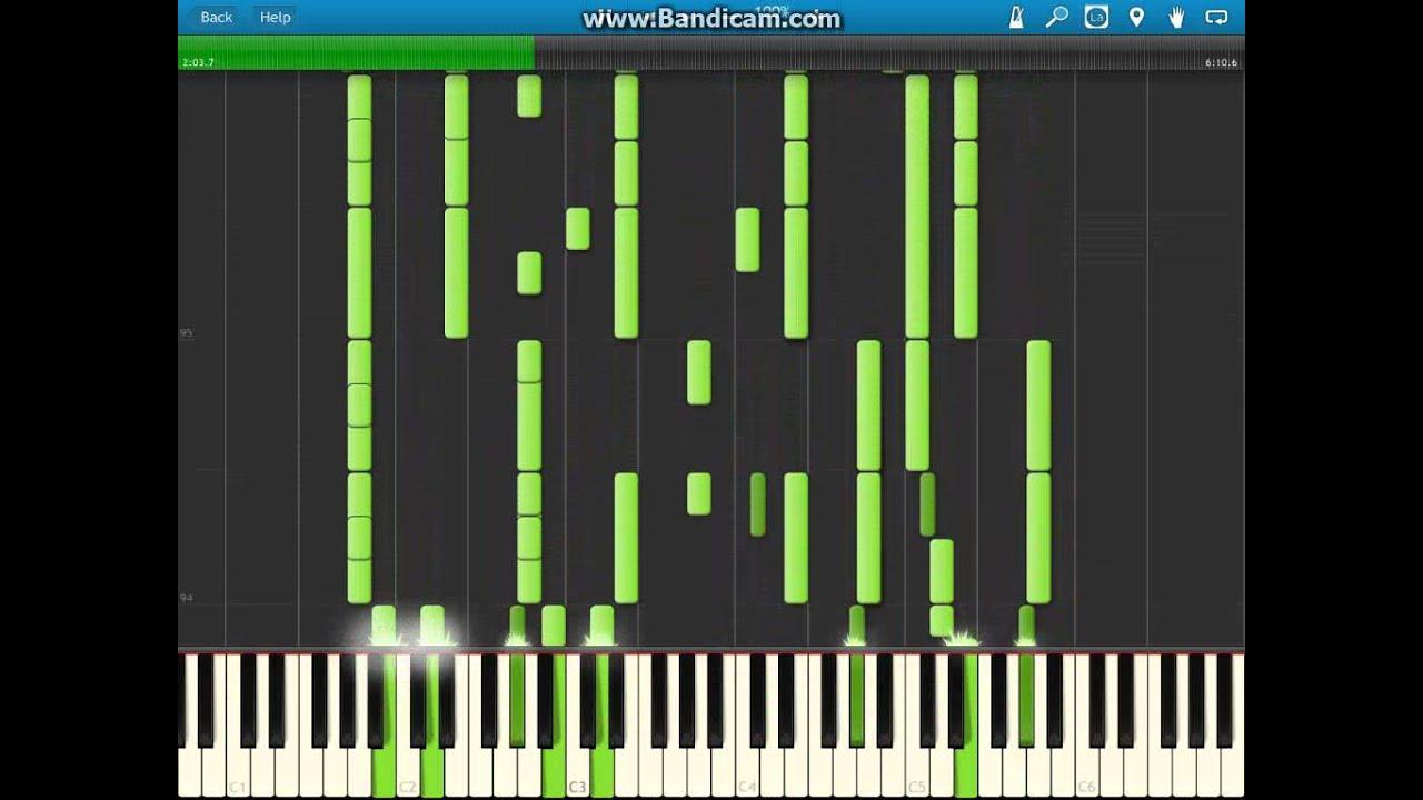 Beethoven 7 symphony 2nd movement theme (piano version) midi
