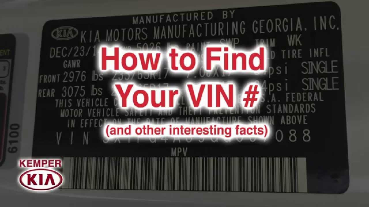 How To Find The Vin On Your Car Bridgewater Nj 2016