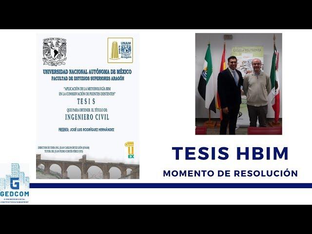 Compartiendo momentos de Defensa de Tesis HBIM