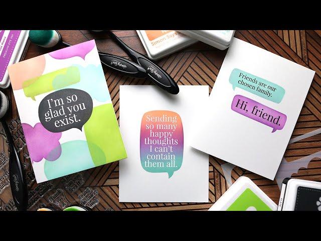 October 2021 Card Kit Inspiration with Kristina Werner