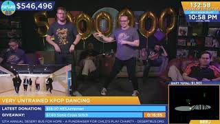 DB2018 - Graham and Jordan Untrained K-Pop Malarkey (dancing to k-pop) finishing with Pop/Stars