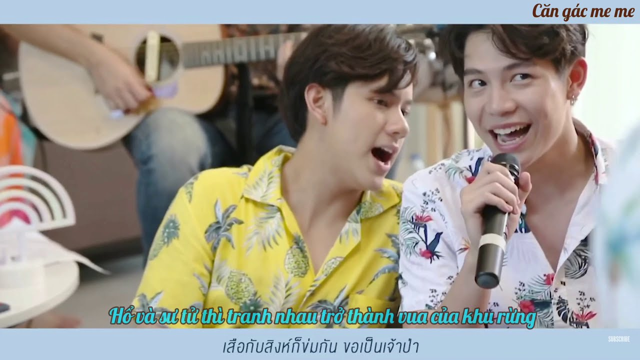 "[VIETSUB - cut] Koo Kad (or Koo Gud) | Rivals (or Lovers) Show ""ยายandthegrandsons - Ep.13"