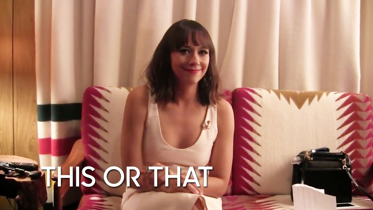 This or That: Rashida Jones