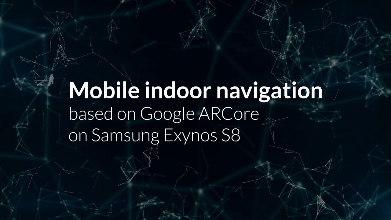 Indoor Real Time Navigation with SLAM on your Mobile - Graphics and