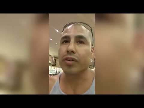 Native American Confronts Racist White Man In Montana