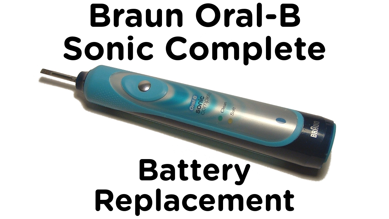 Ebony oral b sonic complete toothbrushes