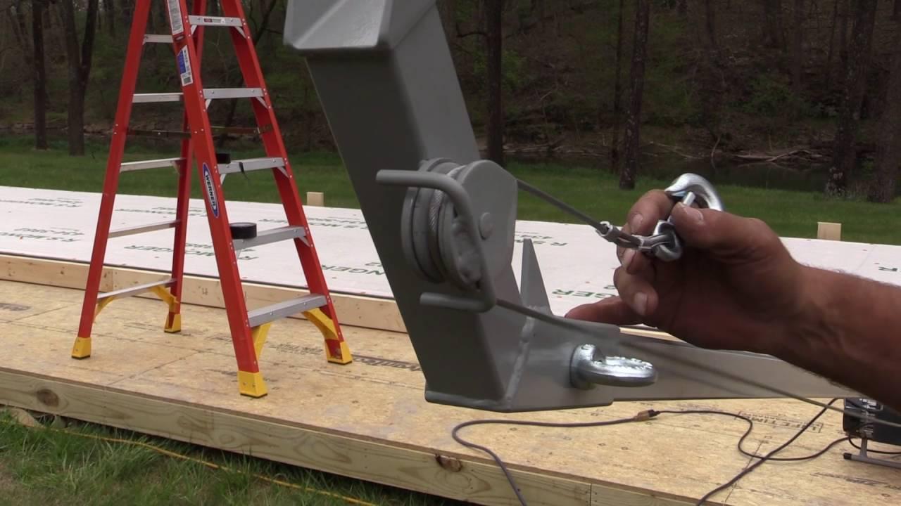 Wall Jacks For Framing wall lift - youtube