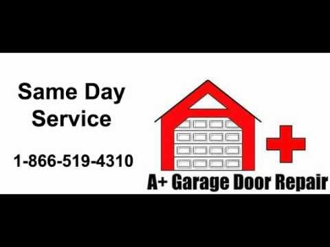 A Garage Door Repair Addison Il 630405 659910off You Tube Youtube