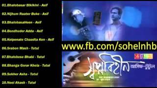 Shopno Biheen Asif & S i Tutul 2009 bangla Full Album Song