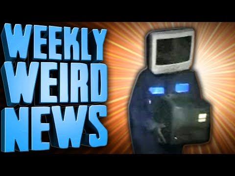 TV Head Man Leaves 52 Old TVs on Doorsteps. WHY? - Weekly Weird News