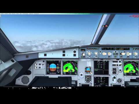 FSX EGKK Gatwick - EIDW Dublin A319