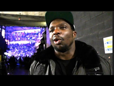 DILLIAN WHYTE REACTS TO TONY BELLEW'S 8th ROUND KNOCKOUT DEFEAT TO OLEKSANDR USYK