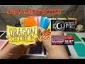 Matte Card Sleeve Battle & review [shuffle & opaque] feat. Dragon Shield Eclipse KMC