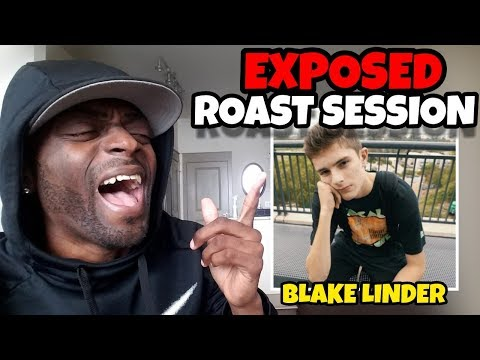 BLAKE LINDER EXPOSED ROAST SESSION 😂🤣 REACTION VIDEO