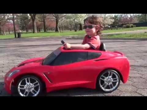 Fisher-Price Power Wheels 2014 Stingray Corvette C7