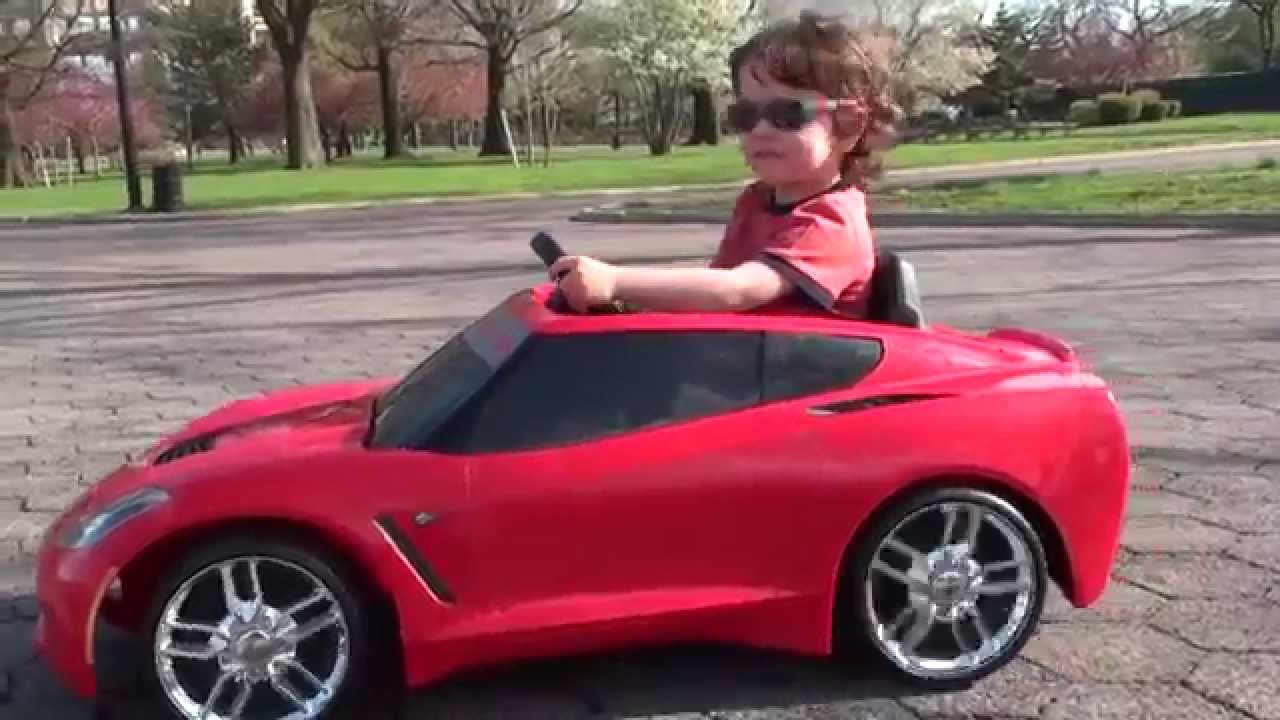 Fisher Price Power Wheels 2014 Stingray Corvette C7 Youtube