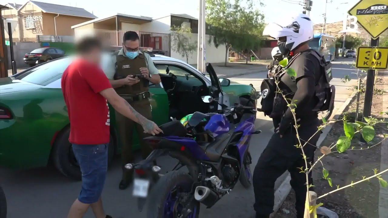 Motorista en fuga: SOS Seguridad Ciudadana
