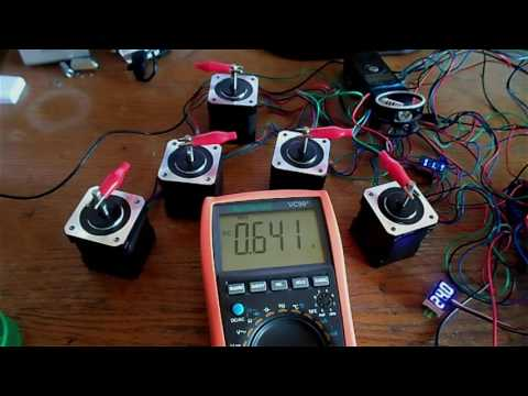 Selecting a power supply for NEMA 17 motors