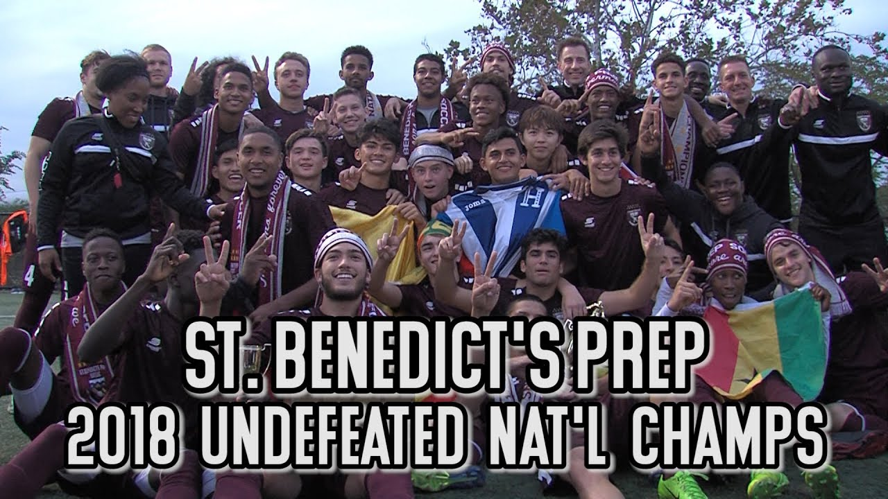 St. Benedict's Prep 7 Pennington 0 | No. 1 Team In America Finishes Undefeated Season