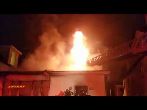 FDNY 12/18/17 Brooklyn: 3rd Alarm Fire 1946 East 14 St. Fire in a 3 story