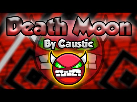 EPIC EXTRA-LONG! Geometry Dash [1.9] (Epic Demon) - DEATH MOON By Caustic - GuitarHeroStyles