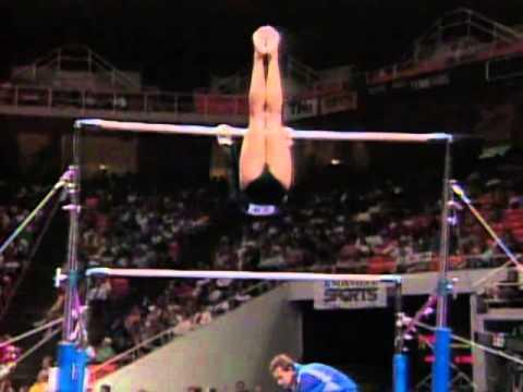 Shannon Miller - Uneven Bars - 1996 U.S Gymnastics Championships - Women