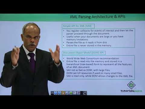 Python - XML Parsing Architecture & APIs