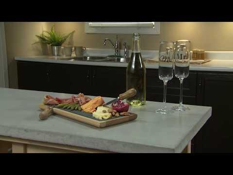 Vidéo pratique - Coulée d'un comptoir en béton