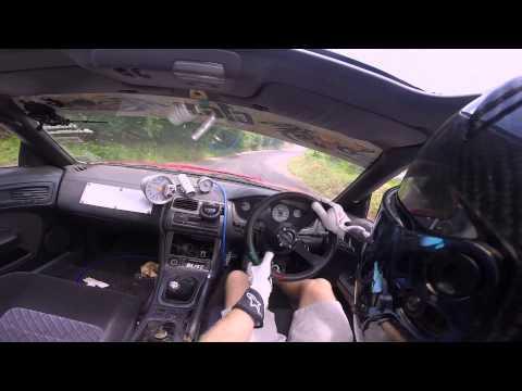 Ebisu Touge in car!! S14 missile