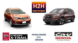 Head2Head #19 Honda New CR-V vs All New Nissan X-Trail