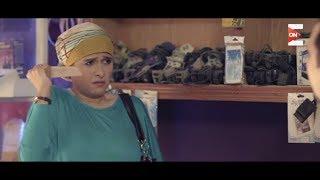 مسلسل هربانة منها - شيماء بتهدد رجب بالقتل بالسكينه وفيصل يلحقها