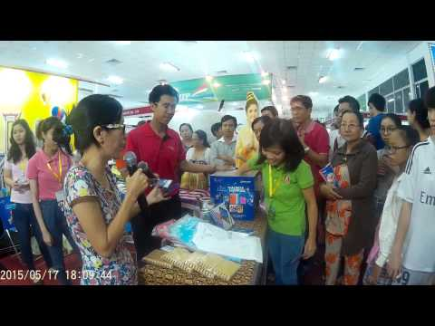 Lucky Draw @Thai Trade & Exhibition Can Tho 2015 May 18th, 2015