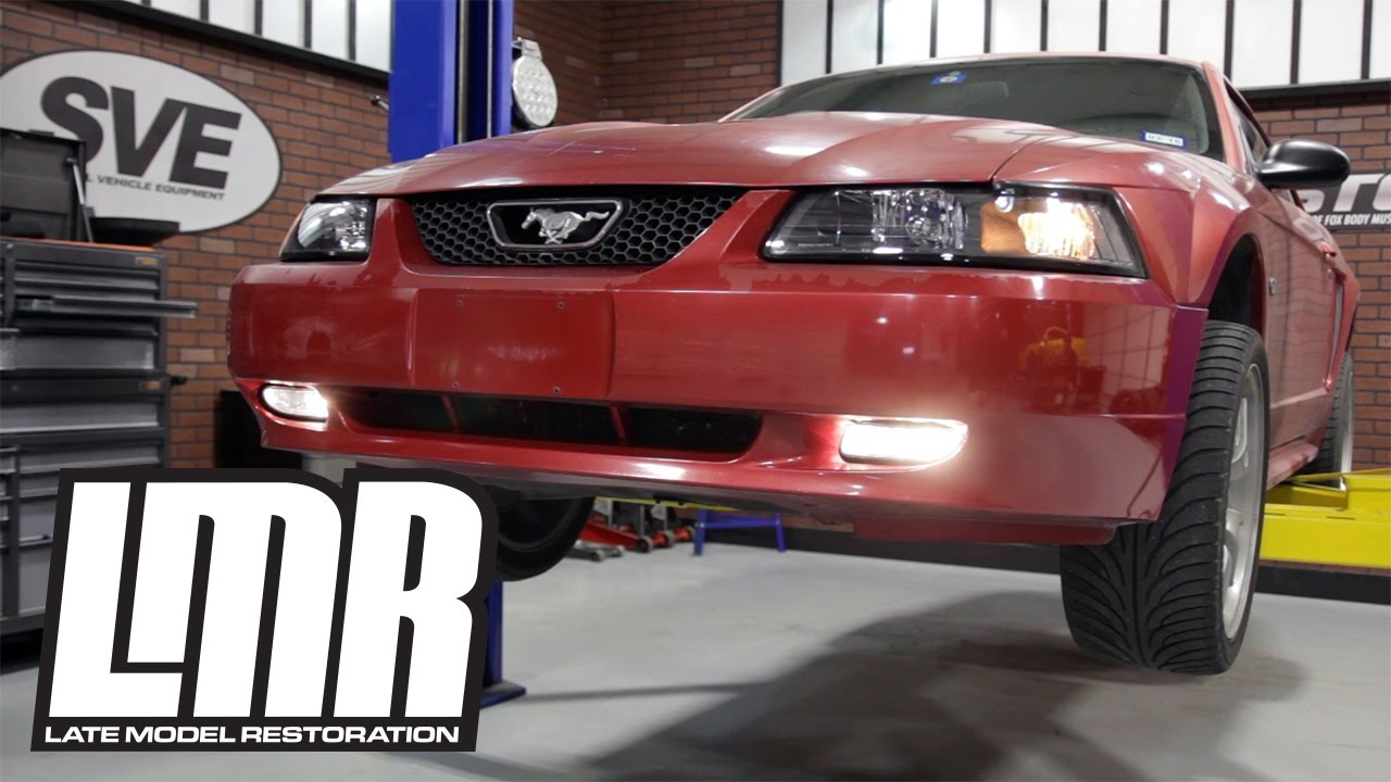 1999-2004 Mustang Sve Smoked Fog Lights - Review  U0026 Install