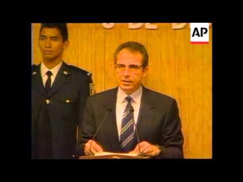 MEXICO: CHIAPAS REBEL UPRISING THREAT
