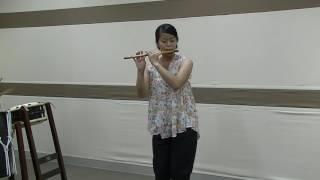 【インターネット篠笛コンテスト2016】津久井香殊子