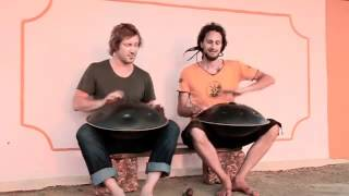 The Hang Drum Project - James Winstanley and Daniel Waples play Sams Dance