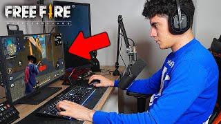 ME VOY A CONVERTIR EN UN JUGADOR DE PC EN FREE FIRE ? | TheDonato