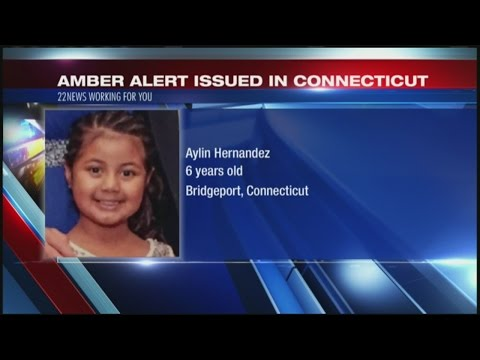 Amber Alert issued for Connecticut girl following deadly stabbing