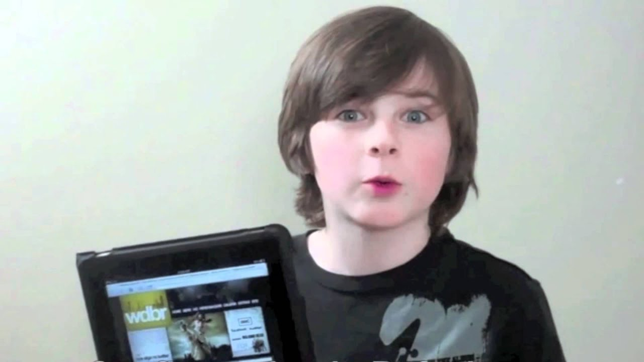 Chandler riggs girlfriend rachel mackenzie