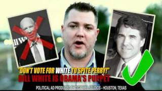 "Funny Rick Perry for Texas Governor 30 Second TV Ad starring a ""Texas Voter"" Ad 01"