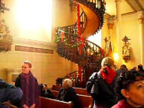 Escalera Milagrosa De Santa Fe Iglesia De Loreto Youtube