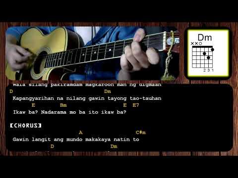 Download Hayaan Mo Sila By Ex Battalion Guitar Chords Tutorial