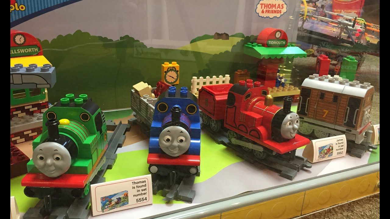 Thomas The Tank Engine And Friends Store Display Lego Duplo Train