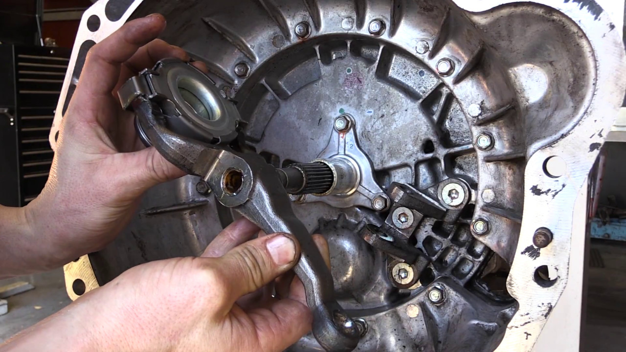 medium resolution of clutch tech colorado rodeo d max bearing and fork removal installation